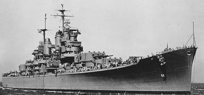 Тяжелый крейсер «Boston» (CA-69)