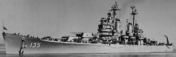 Тяжелый крейсер «Los Angeles» (CA-135)