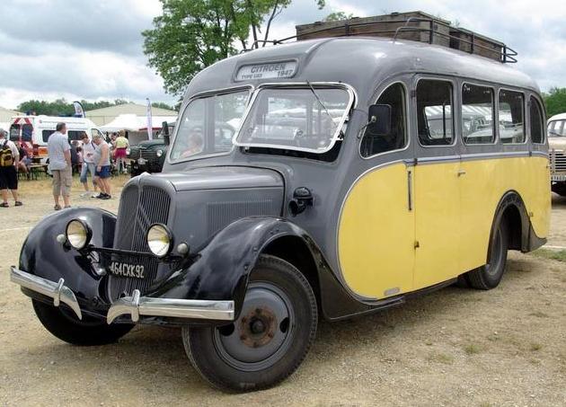 Автобус на длиннобазовом шасси Citroёn 23-U