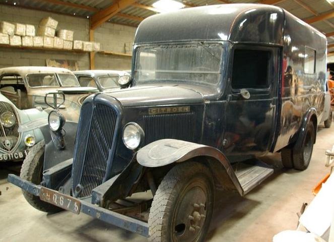 Фургон-мастерская на базе Citroёn 23-U