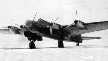 Бомбардировщик Пе-8 (ТБ-7/АНТ-42)