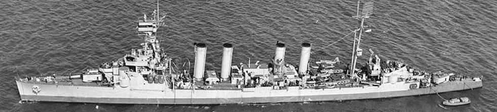 Легкий крейсер «Cincinnati» (CL-6)