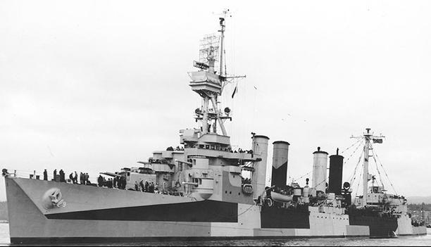 Легкий крейсер «Richmond» (CL-9)