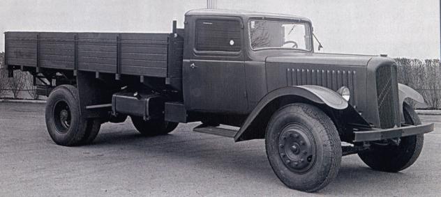 Грузовик Citroёn Т-45