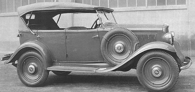 Автомобиль Fiat-518-С (Coloniale) Ardita