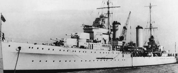 Легкий крейсер «Leander»