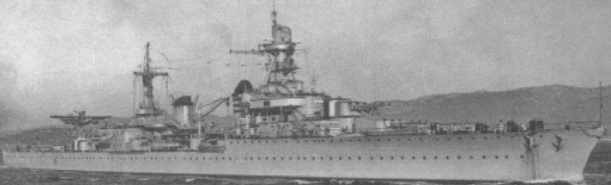 Легкий крейсер «La Galissonniere»