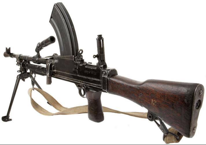 Ручной пулемет Bren Mk-3