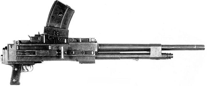 Танковый пулемет Breda-38