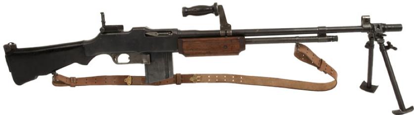 Пулемет Browning M-1918А2 BAR