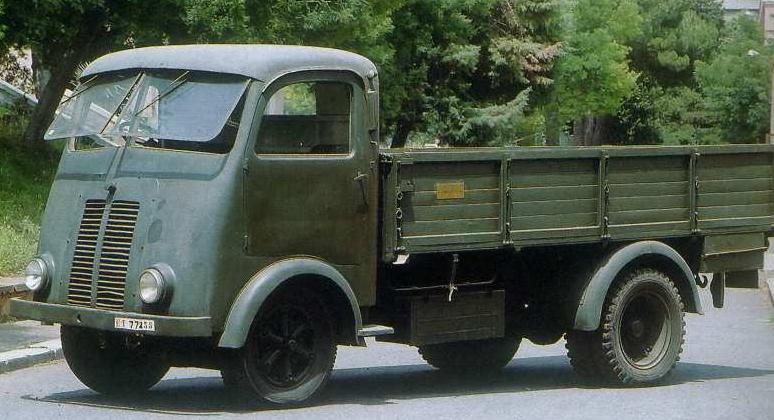Бортовой грузовик Isotta-Fraschini. D-65 UMB