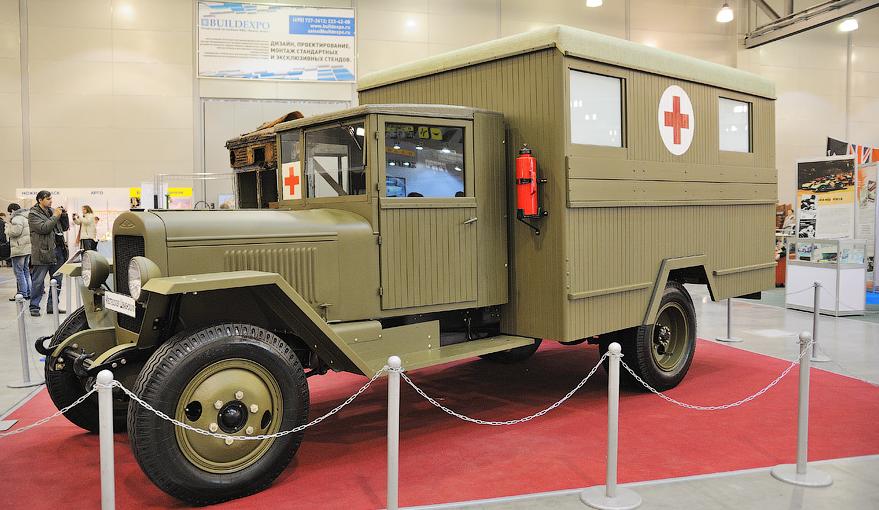 Санитарный автобус ЗиС-44