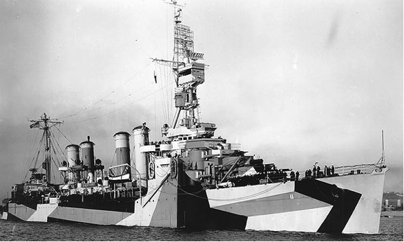 Легкий крейсер «Trenton» (CL-11)