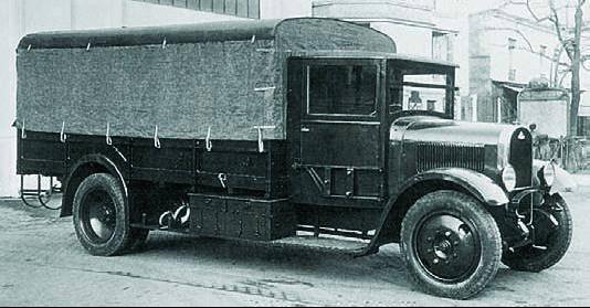 Грузовик Delahaye-103