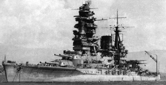 Линейный корабль «Nagato»