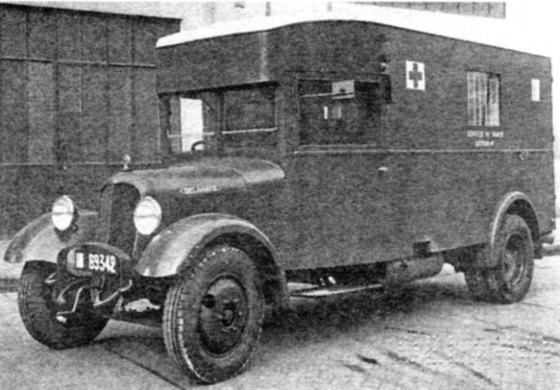 Санитарная машина на базе Delahaye-140-А