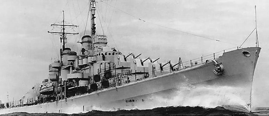 Легкий крейсер «Atlanta» (CL-51)