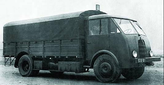 Бортовой грузовик на базе Matford F-917WS