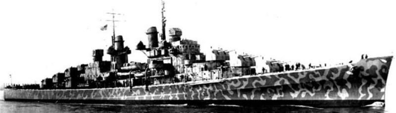 Легкий крейсер «Juneau» (CL-52)