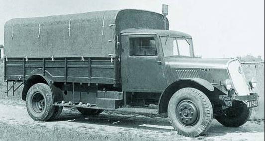 Грузовик Latil М-2В3D