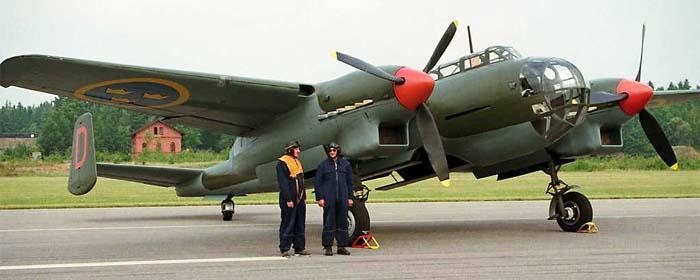 Бомбардировщик Saab  B-18B
