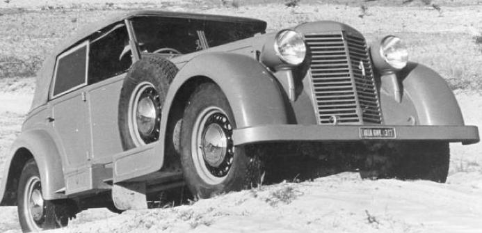 Автомобиль Fiat 2800-CMC