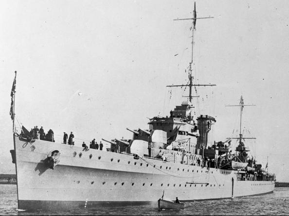 Легкий крейсер «Achilles»