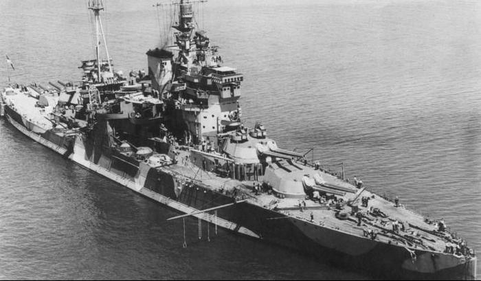 Линейный корабль «Queen Elizabeth»