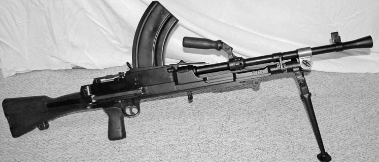 Ручной пулемет Bren Mk-4