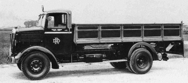 Грузовик Lancia RO NM