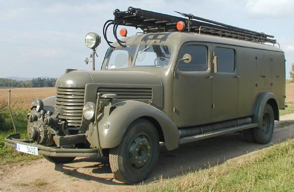 Пожарная машина Praga RN