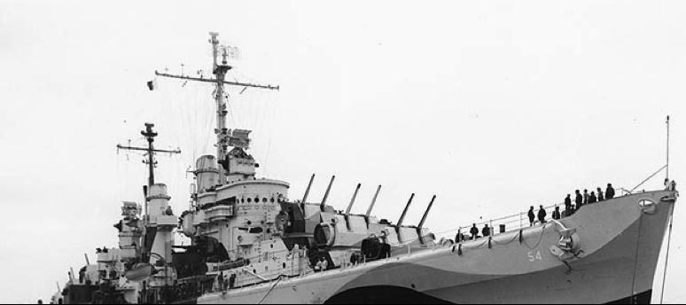 Легкий крейсер «San Juan» (CL-54)