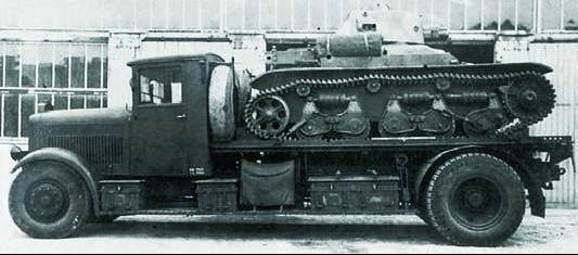 Грузовик Laffly 120-CBL
