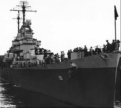 Легкий крейсер «Cleveland» (CL-55)