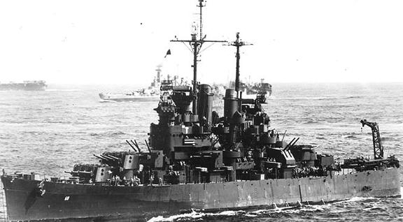 Легкий крейсер «Santa Fe» (CL-60)