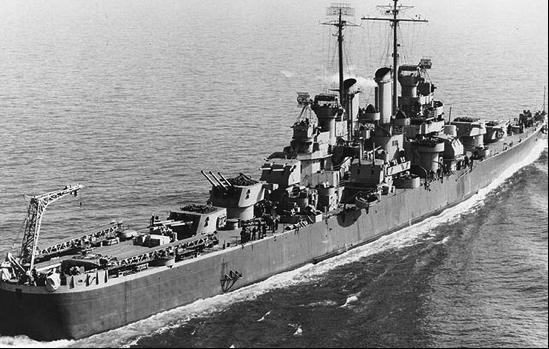 Легкий крейсер «Birmingham» (CL-62)