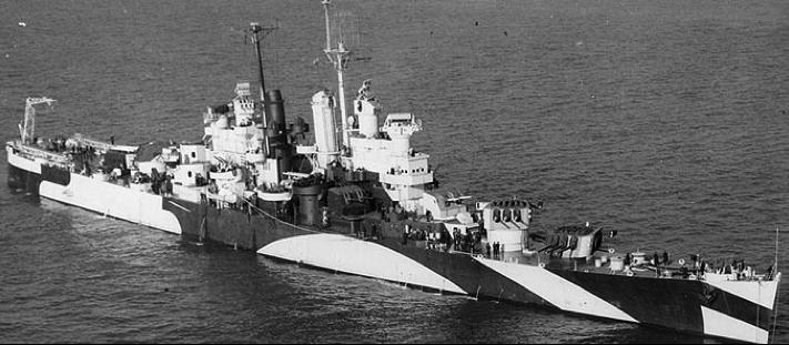 Легкий крейсер «Houston» (CL-81)