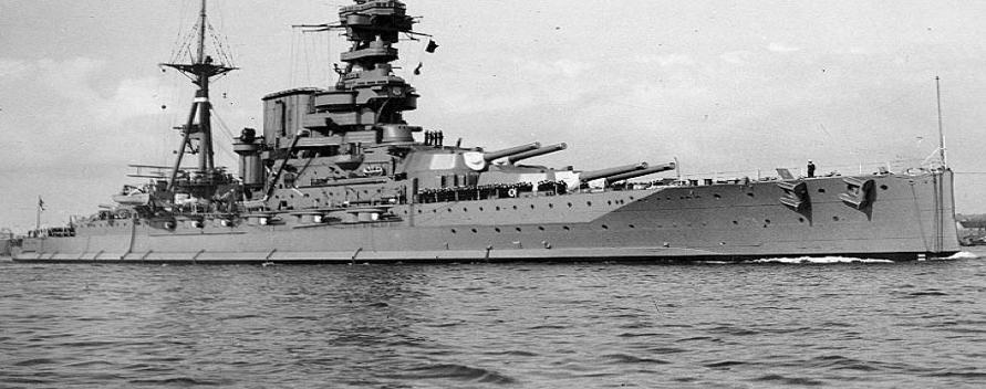 Линейный корабль «Barham»