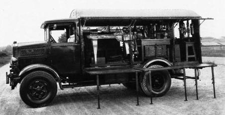 Ремонтная мастерская на базе Lancia RO NM