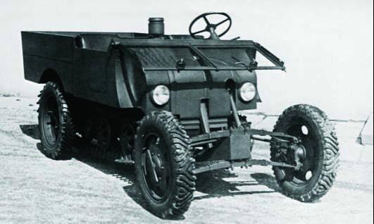 Колесно-гусеничная машина «Steyr М/К»