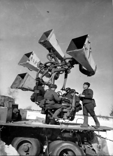 Звукоулавливающая установка ЗТ-5 на базе ЗиС-6