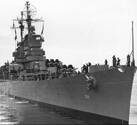 Легкий крейсер «Atlanta» (CL-104)