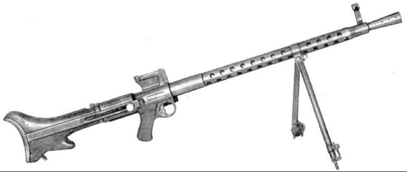 Ручной пулемет Steyr-Solothurn S2-200  (MG30)