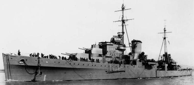 Легкий крейсер «Orion»