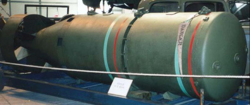 Авиабомба 8000 lb HC