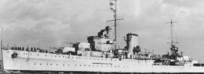 Легкий крейсер «Ajax»