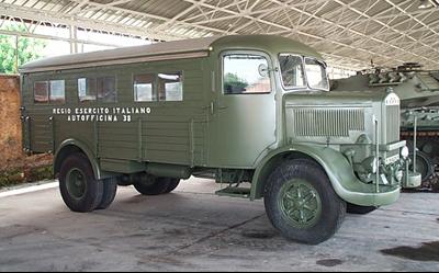 Мастерская на базе Lancia 3-RО