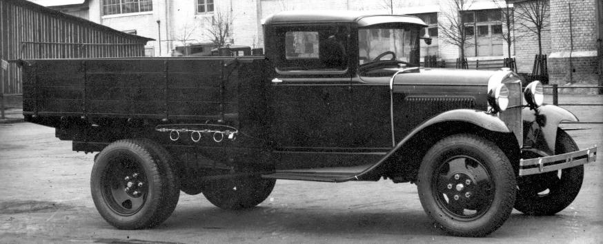 Газобаллонный автомобиль ГАЗ-44
