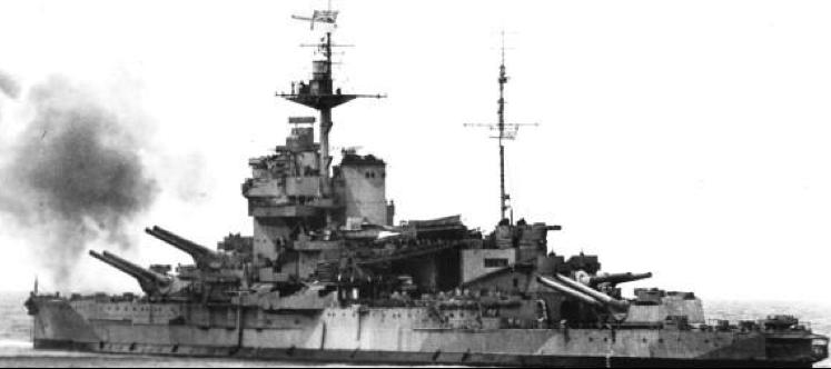 Линейный корабль «Warspite»