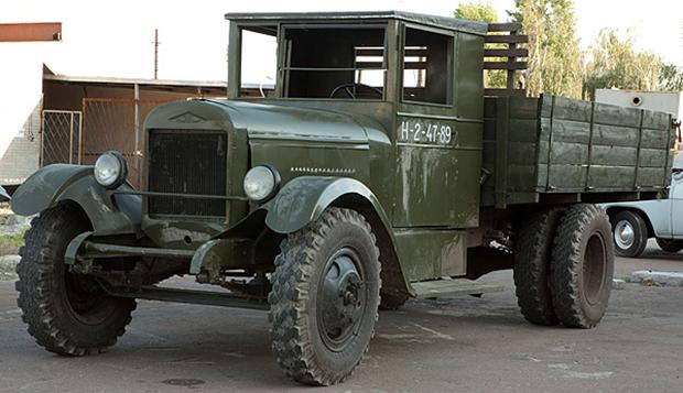 Бортовой автомобиль ЗиС-5